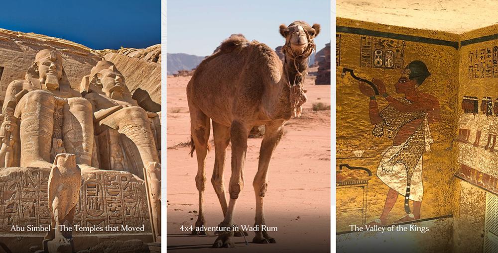 Tauck Land Tour Egypt and Jordan